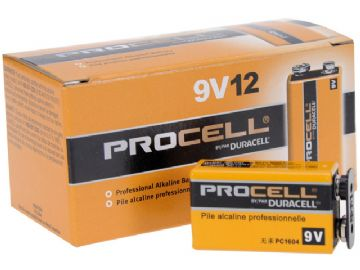 Duracell Procell PP3 battery (pack of 10)